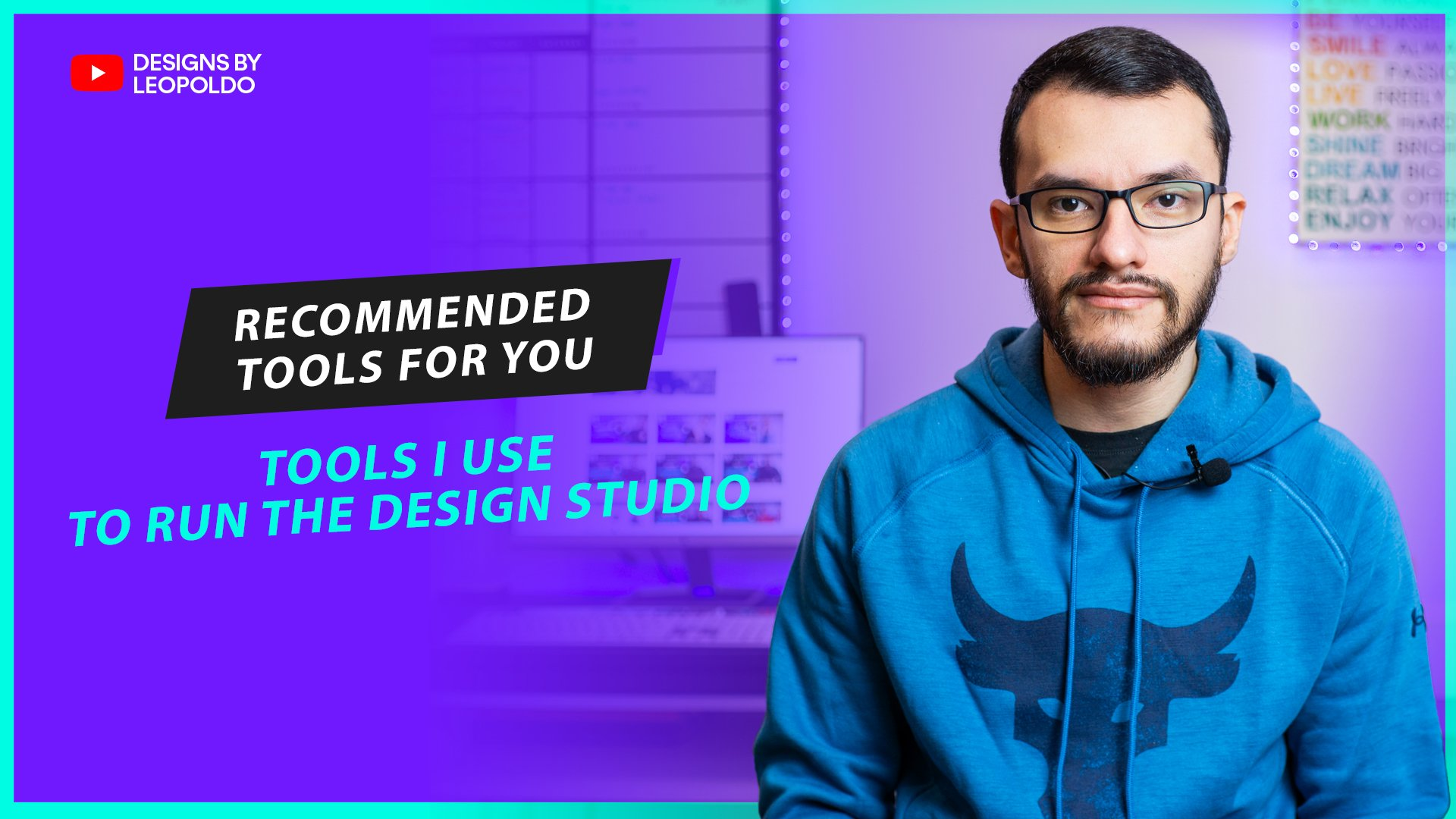 recommended tools to build a design studio