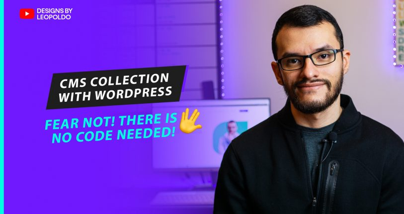 building a CMS collection in WordPress no code needed!